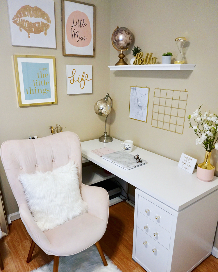 Makeup Vanity/Office Tour